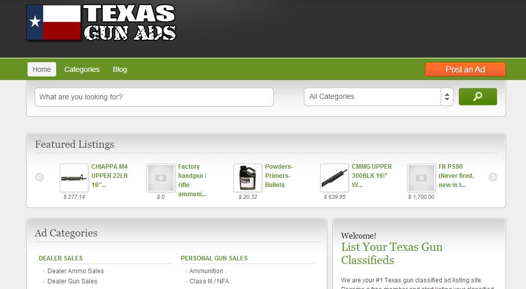 Texas Gun Ads